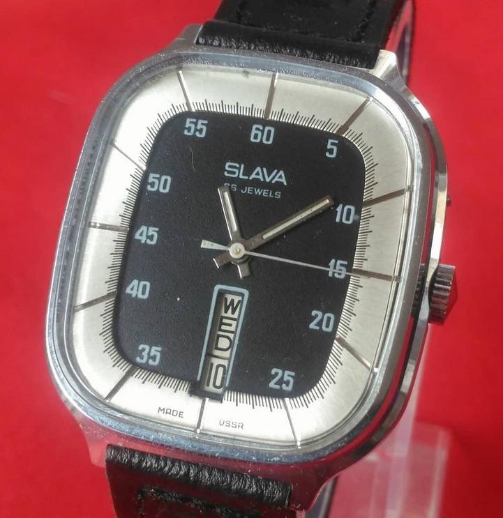 Vintage Russian SLAVA manual watch
